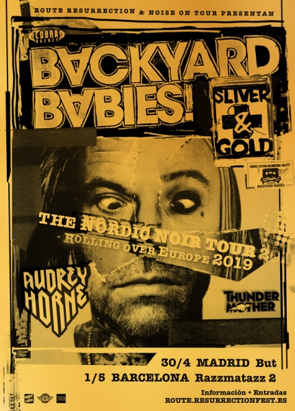 ROUTE2019 Backyard Babies EU Tour GOLD 1